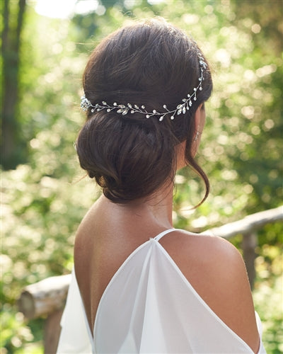 Maeve Crystal Bridal Hair Vine