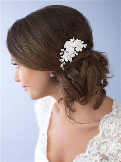 Savannah Floral Bridal Hair Pin 2