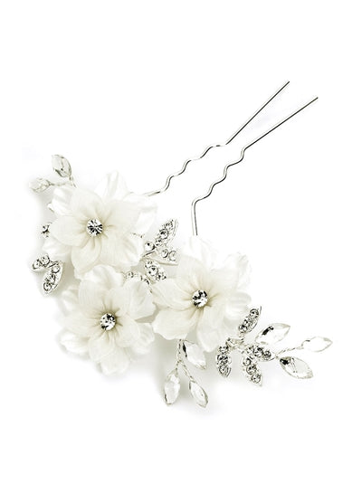 Savannah Floral Bridal Hair Pin