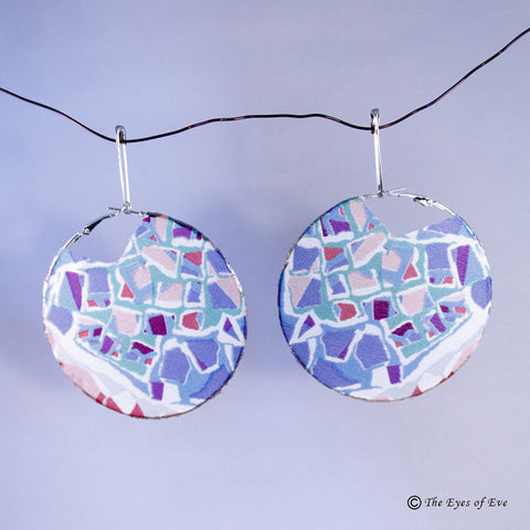 Mosaic Silk Earrings 3