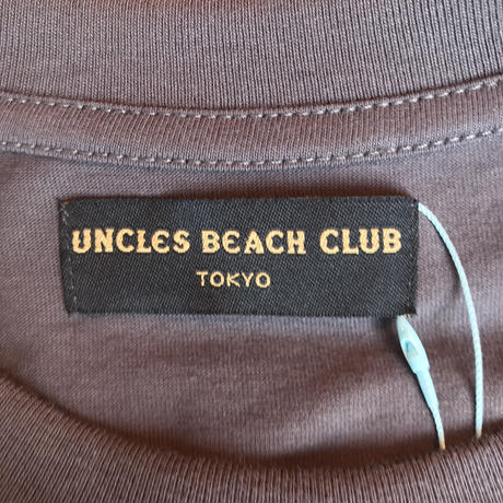 [ FINAL ONE ! ] T-SHIRT [1point Embroidery] -Pistol-  / UNCLES BEACH CLUB