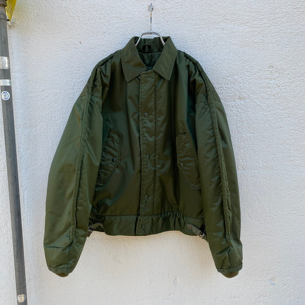 [ ONLY ONE ! ] U. S. NAVY A-1 NYLON DECK JACKET / Mr.Clean Select