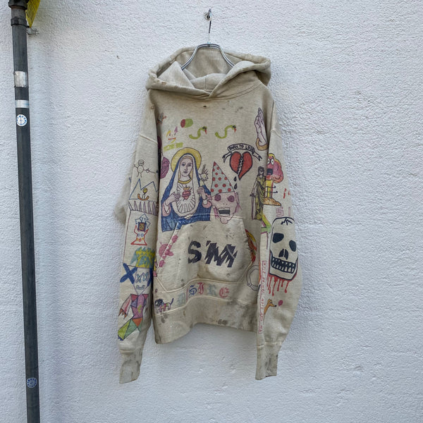SAINT MICHAEL HOODIE GRAFFITI / Saint Michael