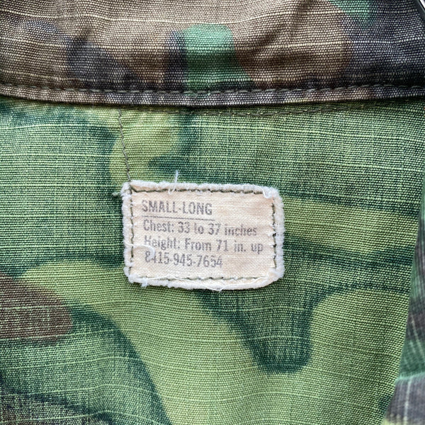 [ONLY ONE!] US ARMED FORCES '68 JUNGLE FATIGUE SHIRT / Mr.Clean Select