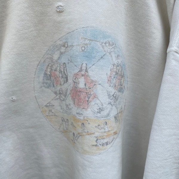SAINT MICHAEL CREW NECK SWEAT SHIRTS / Saint Michael