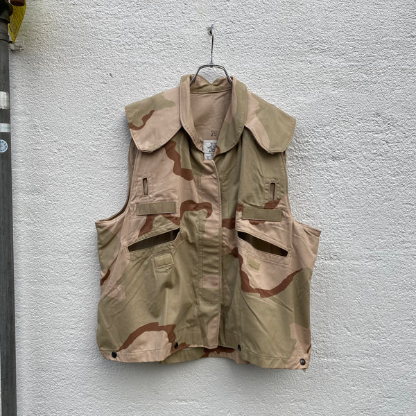 [ ONLY ONE ! ] 3COLOR DESERT BODY ARMOR VEST COVER / U.S. MILITARY