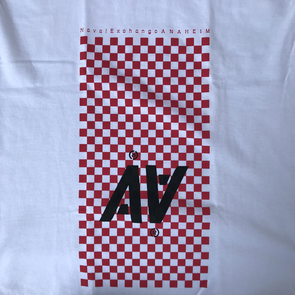 CHECKERBOARD SHORT SLEEVE TEE / ANEX ORIGINALS