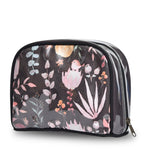 Load image into Gallery viewer, Travel Pouch Floral Brown