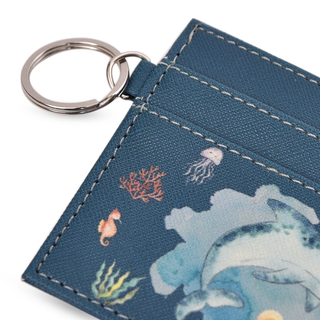 Card Case Aquatic Whale
