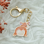 Load image into Gallery viewer, Keychain Enamel Dog Series