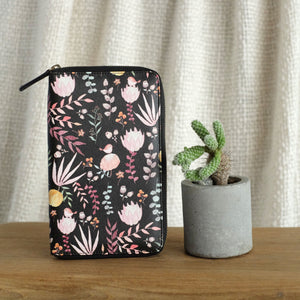 Travel Wallet Floral