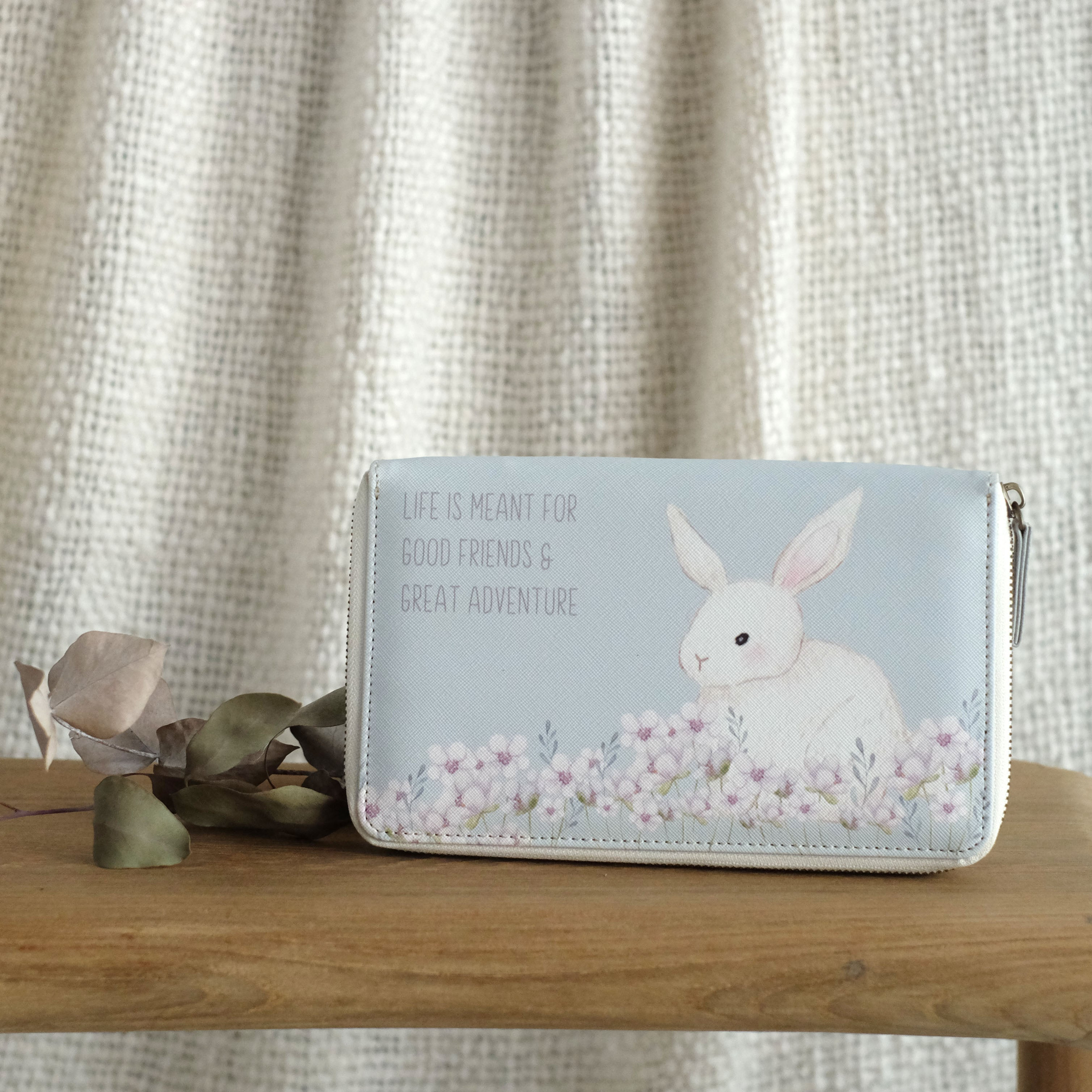 Travel Wallet Rabbit