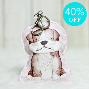 Bag Charm Doggy Bulldog