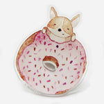 Load image into Gallery viewer, Pop Socket Corgi Doughnut