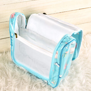 Pouch Toiletries Aquatic Turquoise