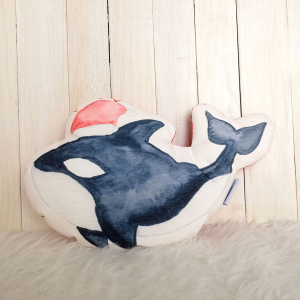 Softies Medium Xmas Orca