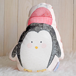 Load image into Gallery viewer, Softies Small Xmas Penguin With Hat