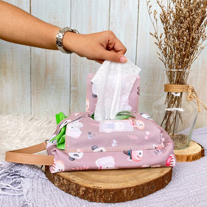 Tissue Pouch Cute Animal Stucco