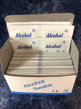 Load image into Gallery viewer, Alcohol Swabs (100 pcs/box)