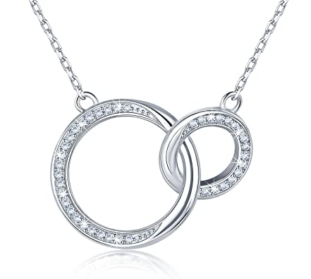 925 Silver round necklace