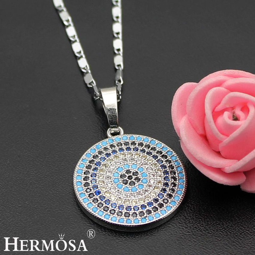 fashion round necklace