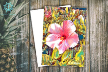 Load image into Gallery viewer, Hawaiian Floral & Tree Note Cards Collection (set of 6)