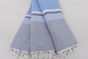 Stripe Thin Beach Towel 100% Natural Cotton