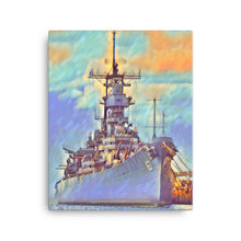 Load image into Gallery viewer, USS Missouri (BB-63) Battleship Canvas
