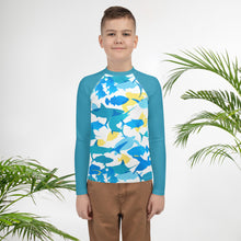 Load image into Gallery viewer, Sea Life Youth Rash Guard