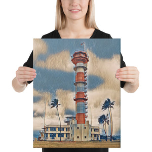 Ford Island Control Tower Canvas