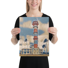 Load image into Gallery viewer, Ford Island Control Tower Canvas