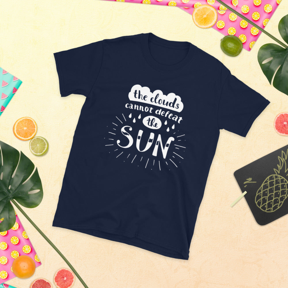 Clouds Cannot Defeat the Sun Tee - Dolce Fleur