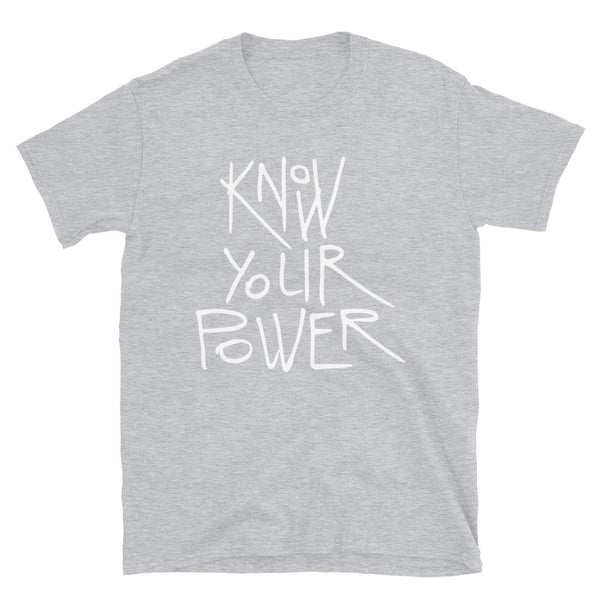 Know Your Power Tee (Dark) - Dolce Fleur