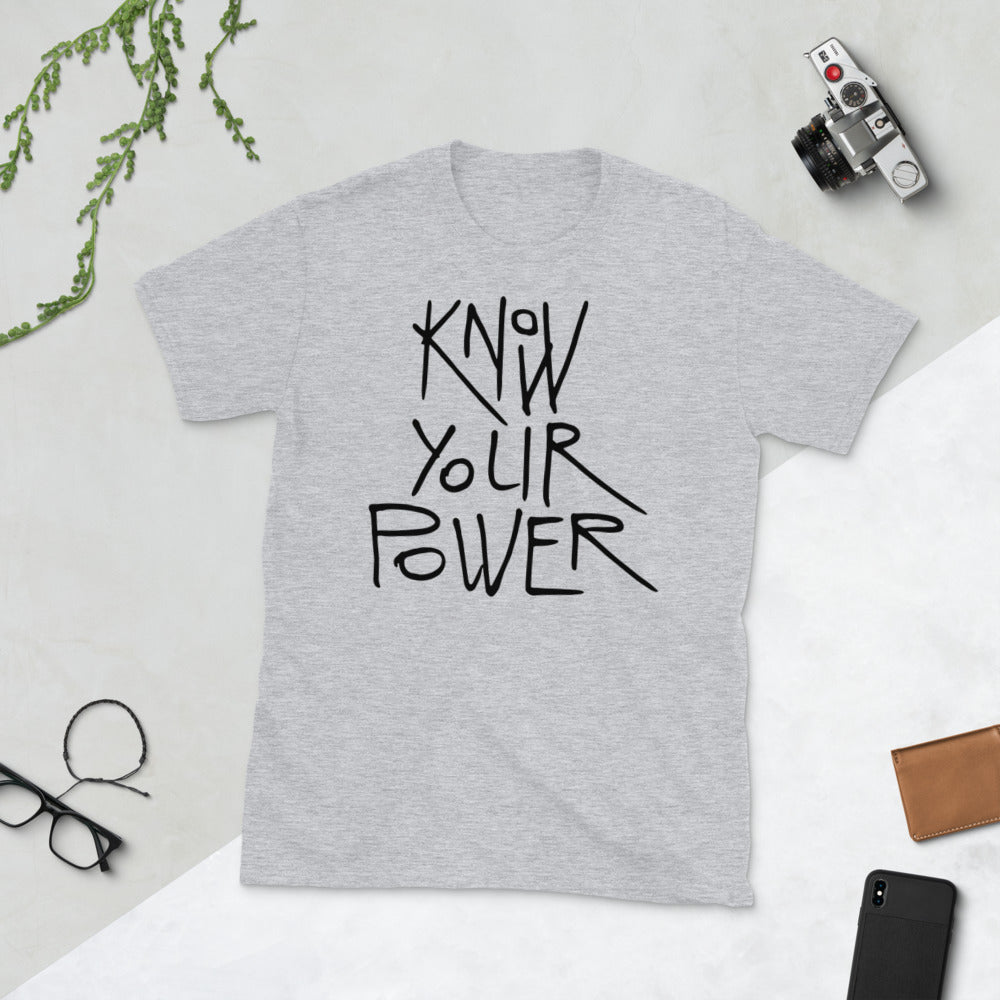 Know Your Power Tee (Light) - Dolce Fleur