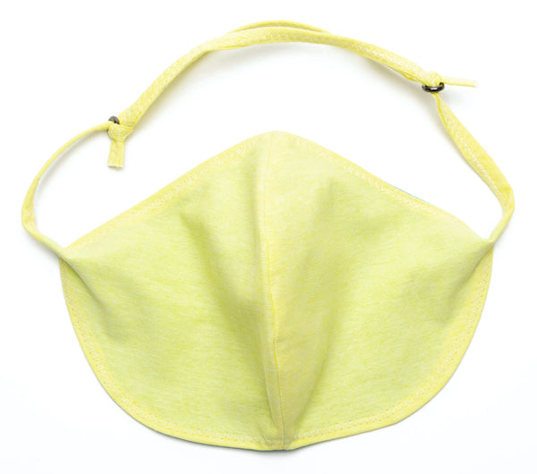 Chambray Reusable Face Masks designs in Yellow Color | Out and About Supply