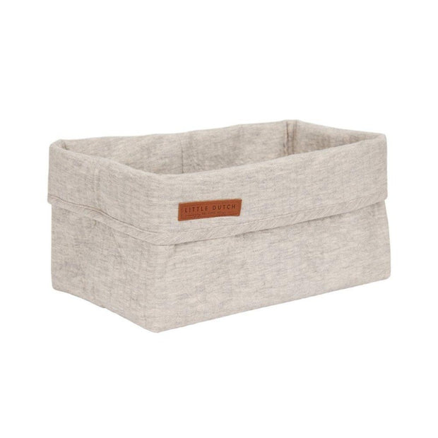 Little Dutch Large Storage Basket - Pure Grey