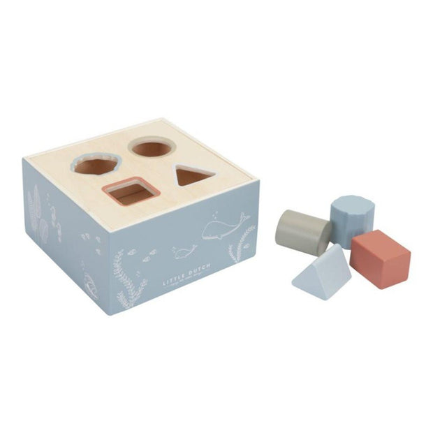 Little Dutch Wooden Shape Sorter Ocean
