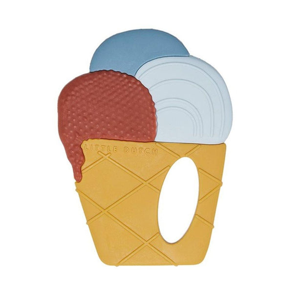 Little Dutch Teething Ring - Ice Cream