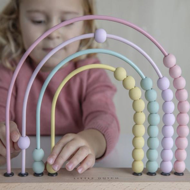 Little Dutch Abacus - Pink
