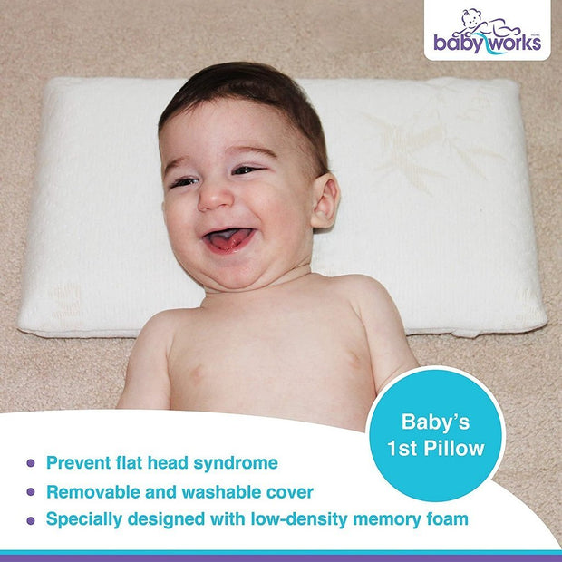 Baby Works Baby's 1st Pillow Bebelephant