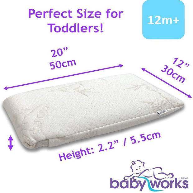 Baby Works Toddler Pillow Bebelephant