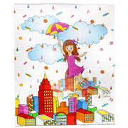Candy Rain Quillow Blanket Bebelephant