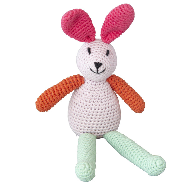 Crochet Musical Bunny Pink Global Affairs