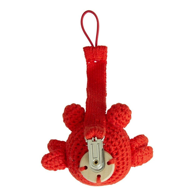 Crochet Pacifier Cord Crab Global Affairs