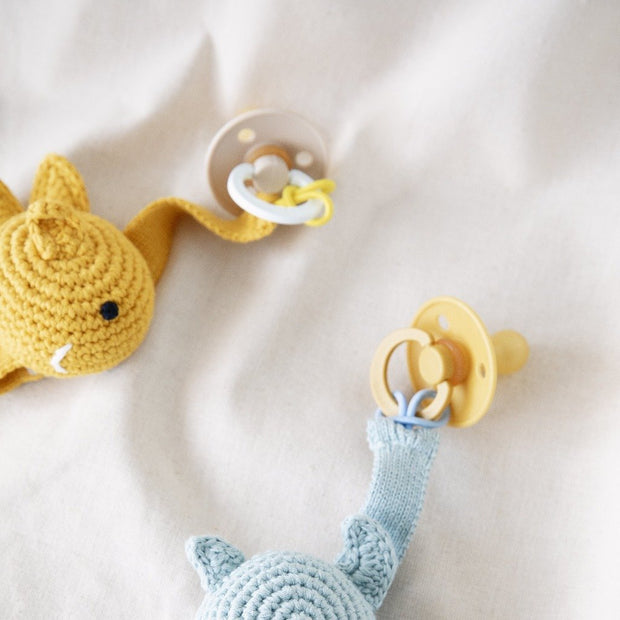 Crochet Pacifier Cord Fish Global Affairs