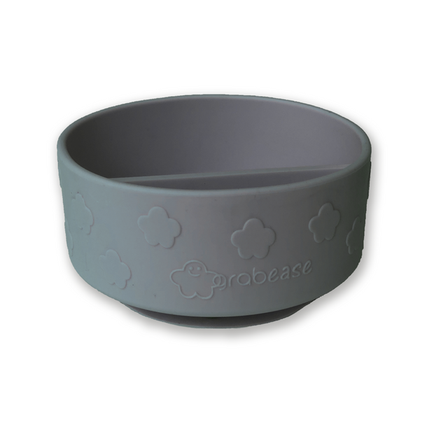 Grabease Silicone Suction Bowl - Grey