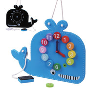 Jumini Blue Whale Clock and Blackboard Baby Price