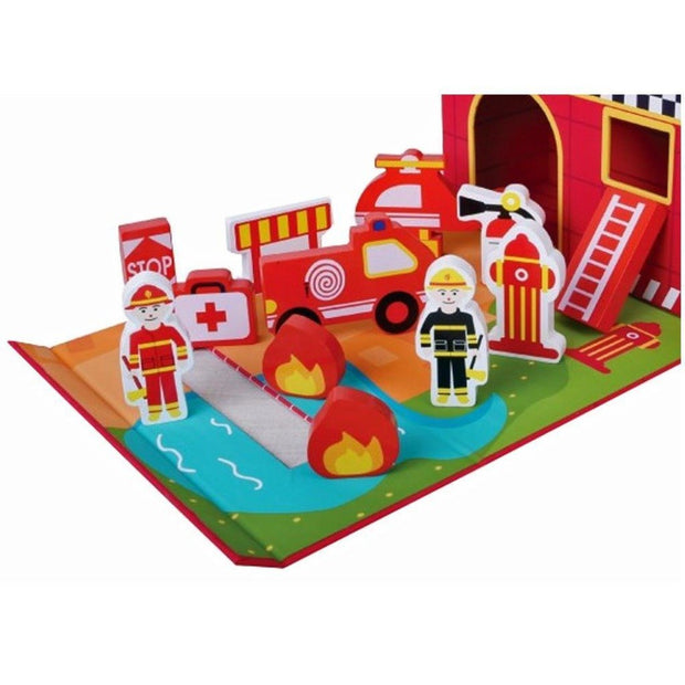 Jumini Foldaway Fire Station Baby Price
