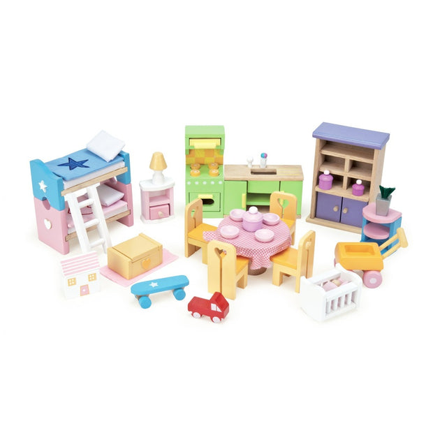 Le Toy Van Doll House Furniture - Starter Set Le Toy Van