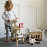 Le Toy Van Sleigh Doll Cot & Crib Le Toy Van